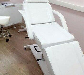 Fotel Kosmetyczny rozkładany hydraulicznie