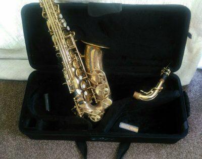 Saksofon altowy John Packer JP041 Eb – dla początkujących