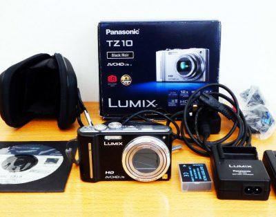 Aparat Panasonic LUMIX DMC-TZ10EG-K 12.1MP