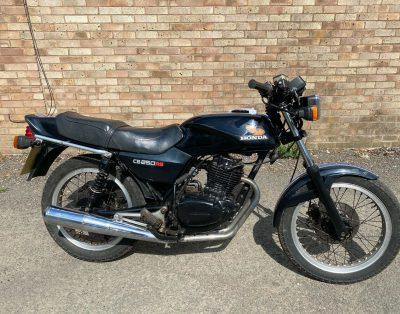 Motocykl Honda CB250RS