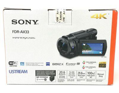 Kamera cyfrowa SONY FDR-AX33 4K