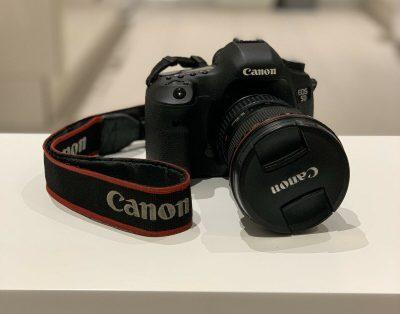 Lustrzanka cyfrowa Canon EOS 5D Mark III