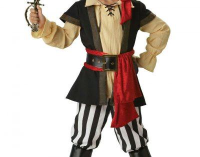 Strój pirata dla chłopca