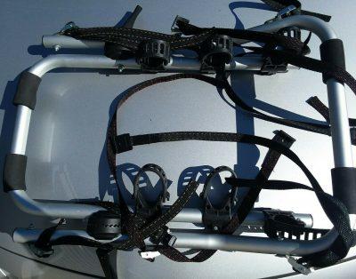 Bagażnik samochodowy na 3 rowery