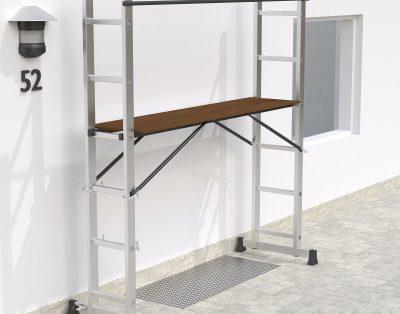Wielofunkcyjna aluminiowa platforma drabinowa