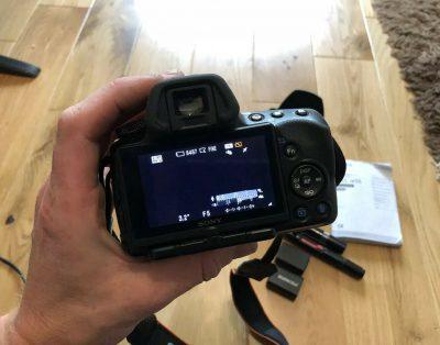 Lustrzanka cyfrowa Sony Alpha A55