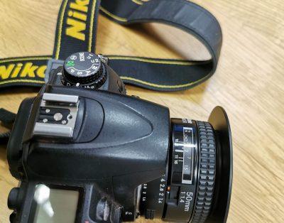 Obiektyw nikkor 1,4 50mm