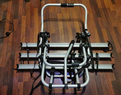 Bagażnik rowerowy na klapę samochodu 3 rowery