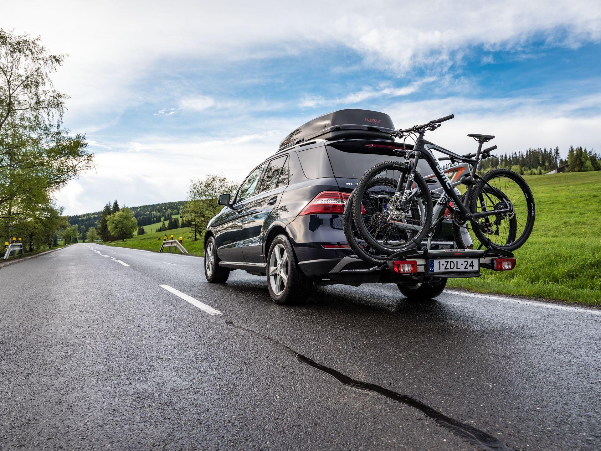 YAKIMA Justclick bagażnik na 4 rowery (3+1)
