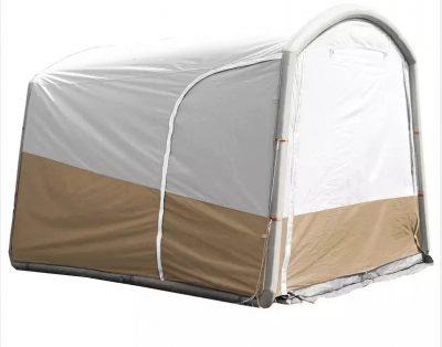 Duży wysoki namiot 4-5 osób, dmuchany stelarz.