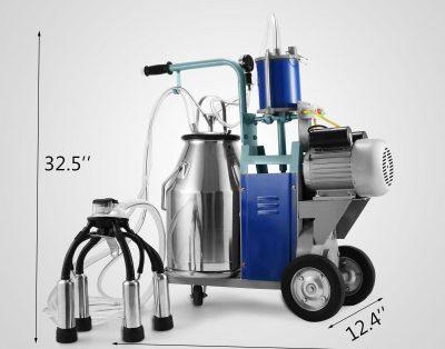 Elektryczna maszyna do dojenia krów