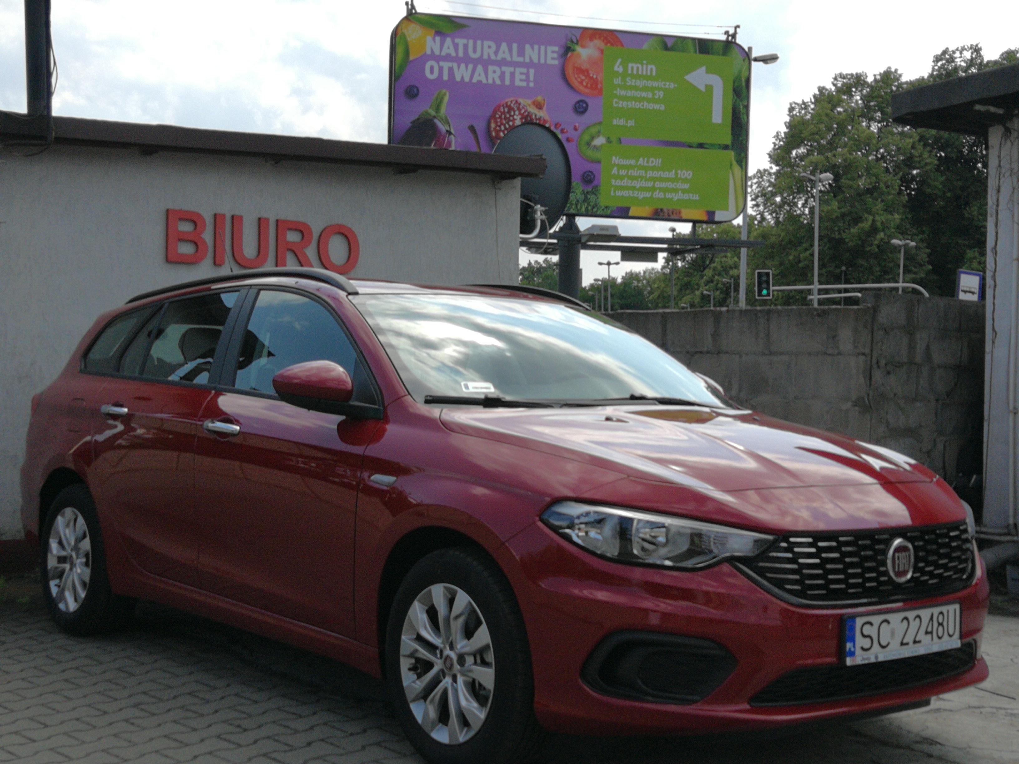 Wypożyczenie samochodu osobowego Fiat Tipo kombi